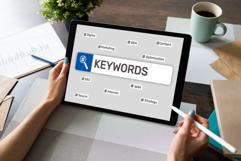 Options to place your keywords