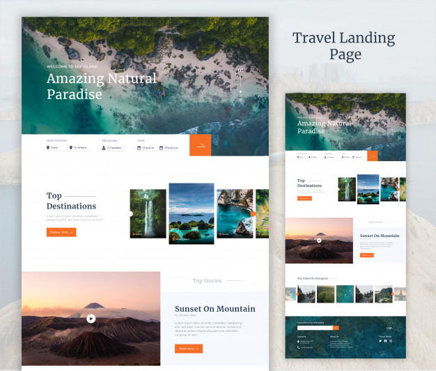 landing page service